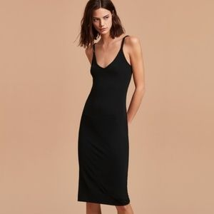 Wilfred free (Aritzia) Gitte black dress